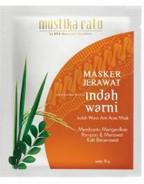 Masker Jerawat Indah Warni - Review Female Daily