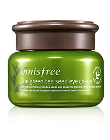 Green tea eye treatment