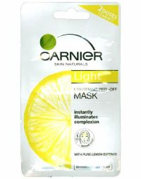 Garnier Light Complete Whitening Peel Off Mask Lemon