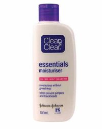 Clean And Clear Essentials Moisturizer
