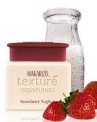 Makarizo Texture Experience Hair Massage Cream Strawberry Yoghurt