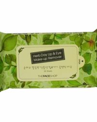 The Face Shop Herb Day Cleansing Wipes Green Tea