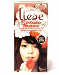 Liese Bubble Hair Color Chestnut Brown