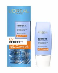 L'Oreal Paris UV PERFECT Aqua Essence Advanced Watery Gel SPF 50+ | PA ++++