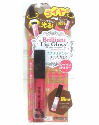 Daiso Briliiant Lip Gloss Shine Cherry with Light