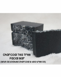 The Soap Corner Charcoal Tea Tree Facial Bar