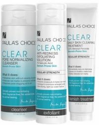 Paula's Choice CLEAR Acne Kit REGULAR STRENGTH