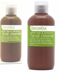 Sensatia Botanicals Green Tea and Tamarind Facial Cleanser