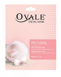 Ovale Facial Mask Powder Mutiara