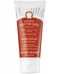 First Aid Beauty Skin Rescue Purifying Mask With Red Clay Peel Off Mask
