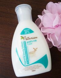 Naturian Hand and Body Lotion Pearl and Goat's Milk