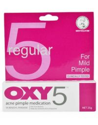 OXY Acne Pimple Medication 5 (Regular Strength)