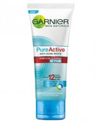 Garnier Pure Active Anti-Acne White Acne & Oil Clearing Scrub