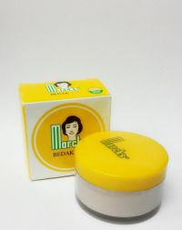 Marcks Bedak Beauty Powder Natural Beige