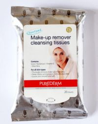 Purederm Make-Up Remover Cleansing Tissues