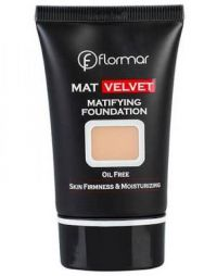 Flormar Mat Velvet Matifying Foundation V201 Warm Ivory