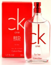 Calvin Klein One Red Edition For Her Fruity and Floral