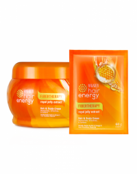Makarizo Hair Energy Fibertherapy Hair & Scalp Creambath Royal Jelly Extract