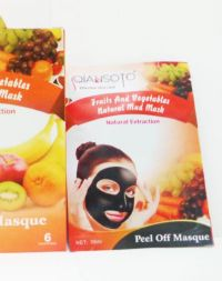 QIANSOTO Fruits and Vegetables Natural Mud Mask Peel Off Masque: Natural Extraction