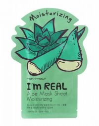 Tony Moly I am Real Mask Sheet Aloe - moisturizing