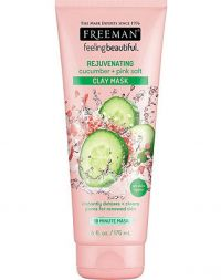 FREEMAN Rejuvenating Cucumber + Pink Salt Clay Mask