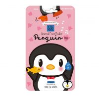 HappyMask Animal Face Maske Penguin Aqua Skin Moisturizer
