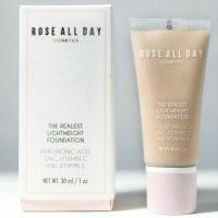 Rose All Day Cosmetics The Realest Lightweight Foundation Light