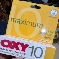 OXY oxy10 maximum acne pimple medication