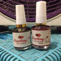 Stroberi Strawberry Nail Henna Maroon and Black
