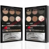 L.A. Colors I Heart Makeup Brow Palette Light to Medium