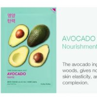 Holika Holika holika holika pure essense sheet mask avocado
