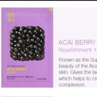 Holika Holika holika holika pure essense mask sheet acai berry