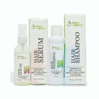 Green Angelica Paket Combo 3 Green Angelica Hair Serum & Shampo
