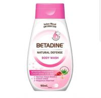 Betadine Natural Defense Body Wash Refreshing Pomegranate & Moisturising Aloe Vera