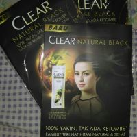 CLEAR Clear natural black