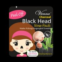 Vienna Peel Off Charcoal Black Head Nose Pack