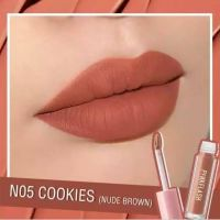 Pinkflash Lipstik Pink Flash No 05 Cokies (Nude Brown)