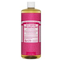 Dr. Bronner's Pure-Castile Liquid Soap Rose