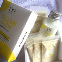 Evete Naturals Yellow Glow Easymix Mask Kit