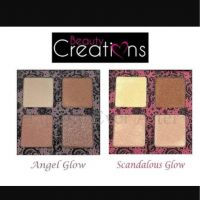 Beauty Creations Beauty creations highlight pallete Angel glow & Scandalous glow