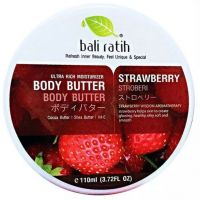 Bali Ratih bali ratih body butter varian strawberry