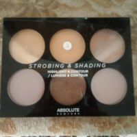 Absolute New York strobing&shading palette Tan to deep