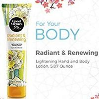 Good Virtues Co. Radiant and Renewing Lightening hand and body lotion