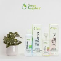 Green Angelica Green Angelica Paket Combo 3 Shampo & Serum