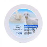 Leivy Body Scrub Spa Goat's Milk Double Moisturizing