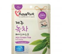 HappyMask Jeju green tea mask Face mask green tea