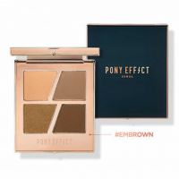 Pony Effect Conceptual Eyes Quad Palette Embrown