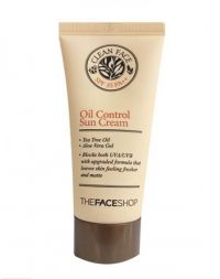 The Face Shop Oil Free Sun Cream