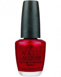 O.P.I Nail Lacquer An Affair in Red Square