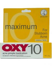 OXY Acne Pimple Medication 10 (Maximum Strength)